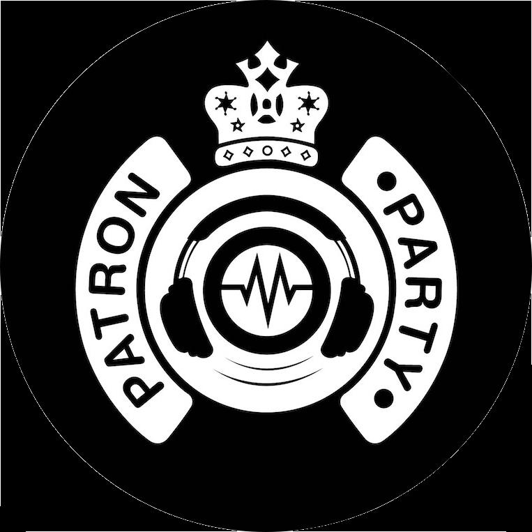 patron party logo